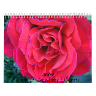 Stop & Smell the Flowers... - Customized Calendar