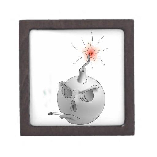 Stop Smoking and bomb Premium Keepsake Box