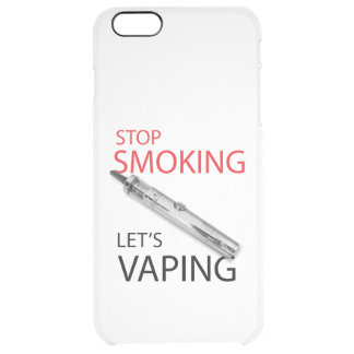 Stop smoking clear iPhone 6 plus case
