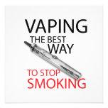 Stop smoking invite