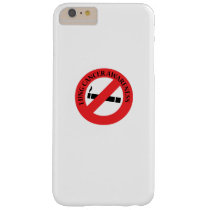Stop Smoking Lung Cancer Awareness Barely There iPhone 6 Plus Case