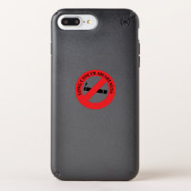 Stop Smoking Lung Cancer Awareness Speck iPhone Case