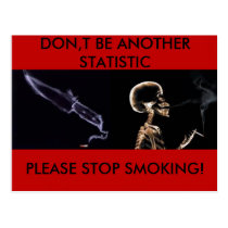 Stop Smoking postcard