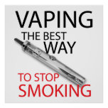 Stop smoking posters