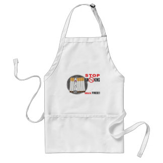 Stop Smoking Reminders - No More Butts Adult Apron