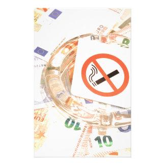 Stop smoking stationery