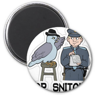 stop snitching pigeon magnet