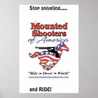 Stop Sniveling-MSA Poster