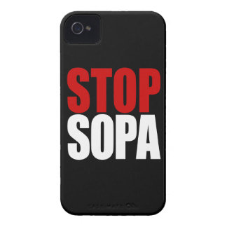 Stop SOPA Barely There iPhone4 iPhone 4 Cover
