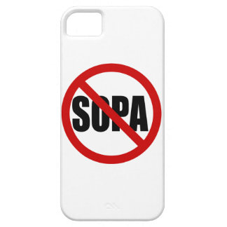 Stop SOPA Barely There iPhone4 iPhone SE/5/5s Case