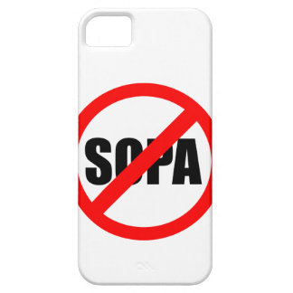 Stop SOPA iPhone SE/5/5s Case