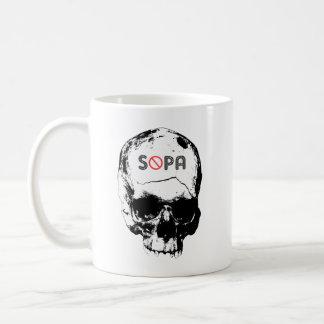 Stop SOPA Classic White Coffee Mug