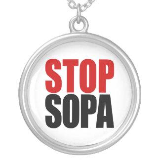 Stop SOPA Necklace