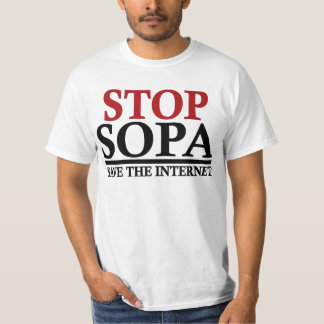 STOP SOPA Save the Internet T-Shirt