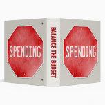 Stop Spending 3 Ring Binder