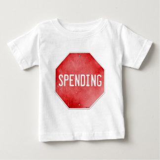 Stop Spending Baby T-Shirt