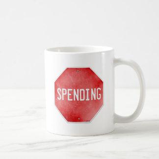 Stop Spending Coffee Mug