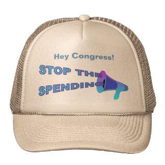 Stop Spending Hat