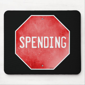 Stop Spending Mouse Pad