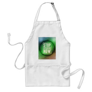 Stop Spending Now Adult Apron