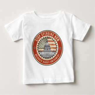 Stop Spending Now Baby T-Shirt