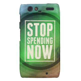 Stop Spending Now Motorola Droid RAZR Cases