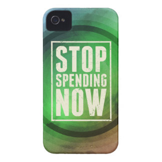 Stop Spending Now iPhone 4 Covers