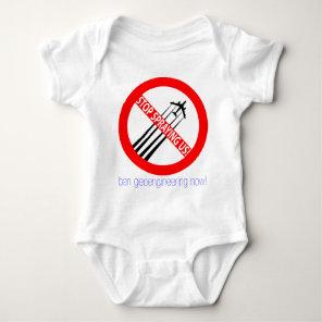 Stop Spraying Us - Ban Geoengineering Baby Bodysuit