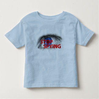 Stop Spying Tee Shirts