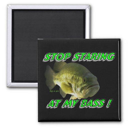 Stop Staring at My Bass Magnets