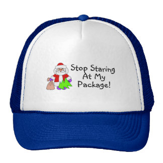 Stop Staring At My Package 2 Trucker Hat