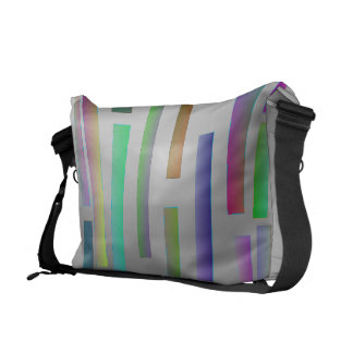 Stop/Start Colors Courier Bag