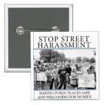 Stop Street Harassment Book Cover Button