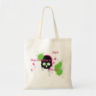 stop sweating my process tote bag
