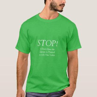 STOP t shirt  II