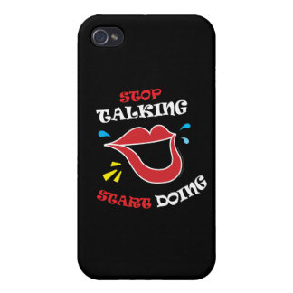 Stop talking Start doing Cases For iPhone 4