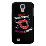 Stop talking Start doing Samsung Galaxy S4 Cover