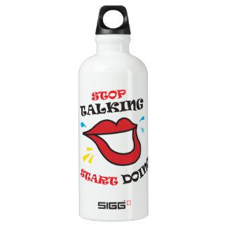 Stop talking Start doing SIGG Traveler 0.6L Water Bottle