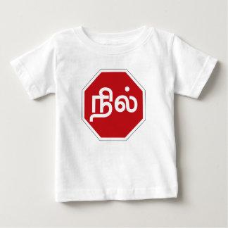 Stop, Tamil Nadu, Traffic Sign, India Baby T-Shirt