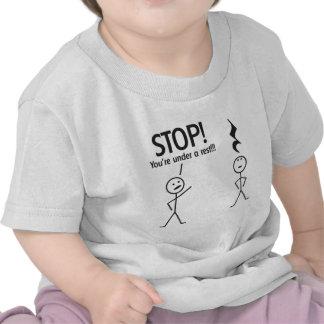 STOP! TEE SHIRTS