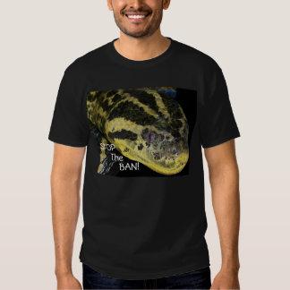 Stop The Ban! Yellow Anaconda T Shirt