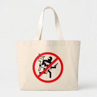 Stop the BLM Cattle Rustlers Canvas Bags