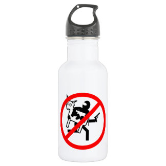Stop the BLM Cattle Rustlers Stainless Steel Water Bottle