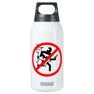 Stop the BLM Cattle Rustlers Thermos Bottle