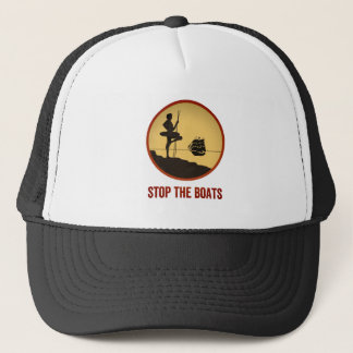 Stop The Boats Trucker Hat