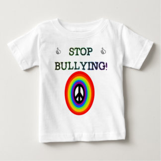 stop the bullying sign baby T-Shirt