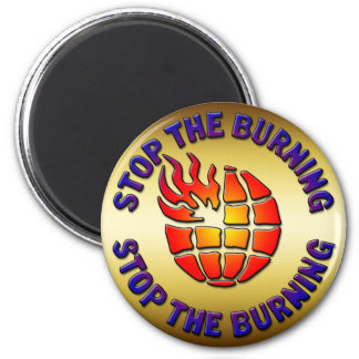 STOP THE BURNING MAGNET