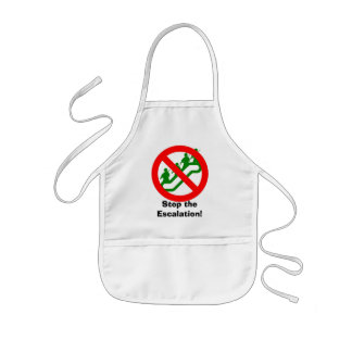 Stop the Escalation! Kids' Apron