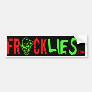 Stop the Frack Lies! Bumper Sticker