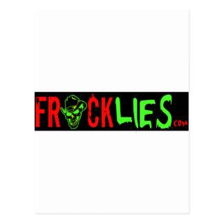 Stop the Frack Lies! Postcard